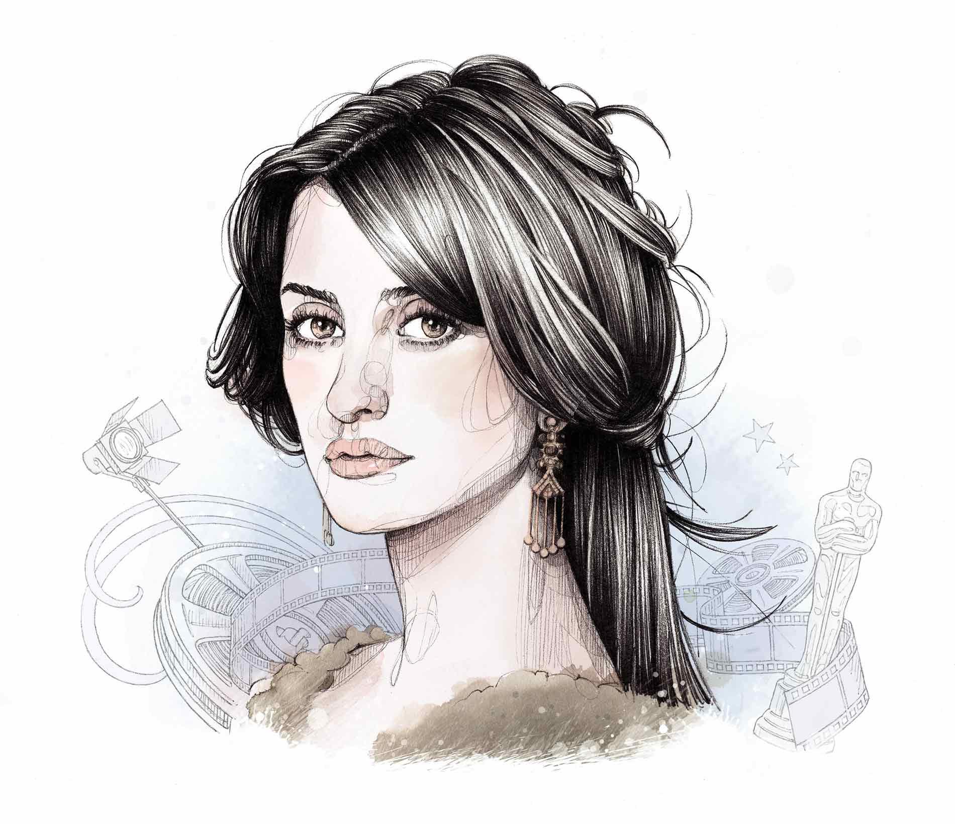 Portrait de Penelope Cruz