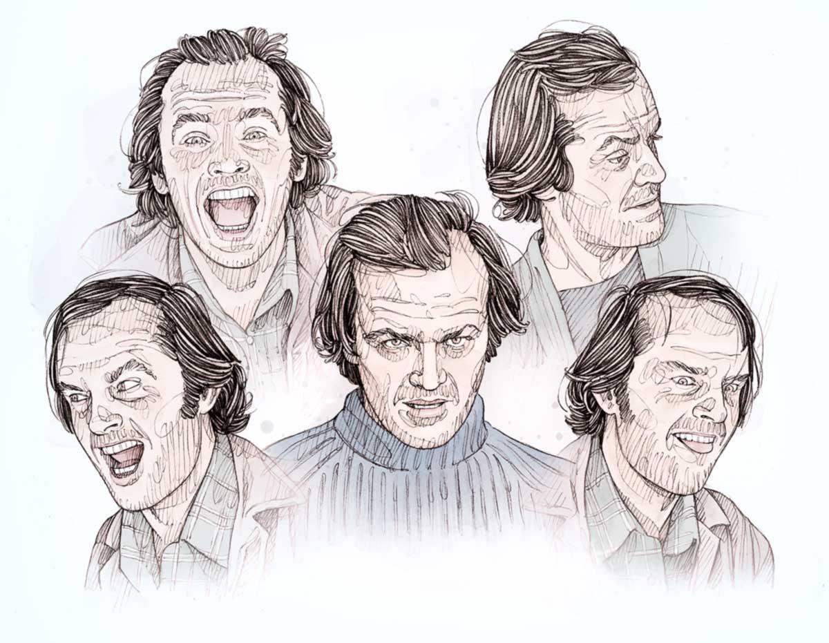 Portraits de Jack Nicholson