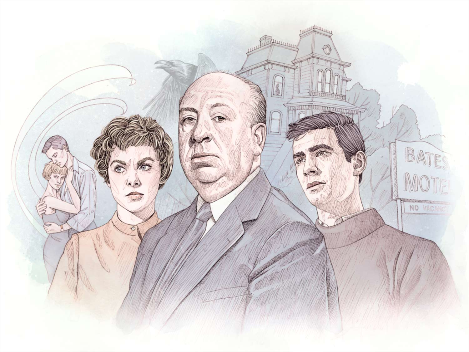 potrait-collectif-alfred-hitchcock